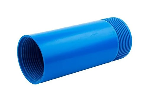 Пластиковая обсадная труба на резьбовом соединении