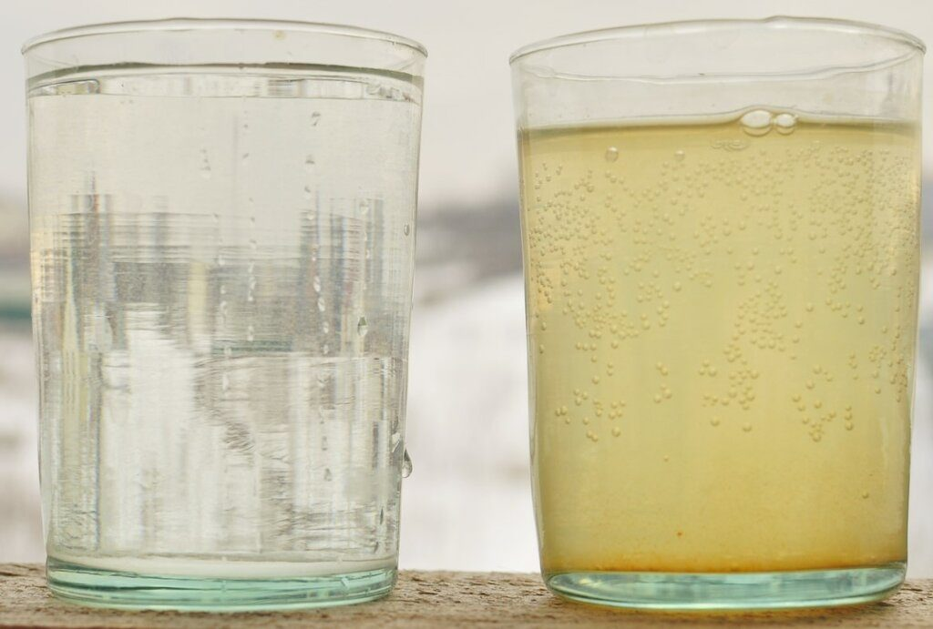 Грязная вода из скважин