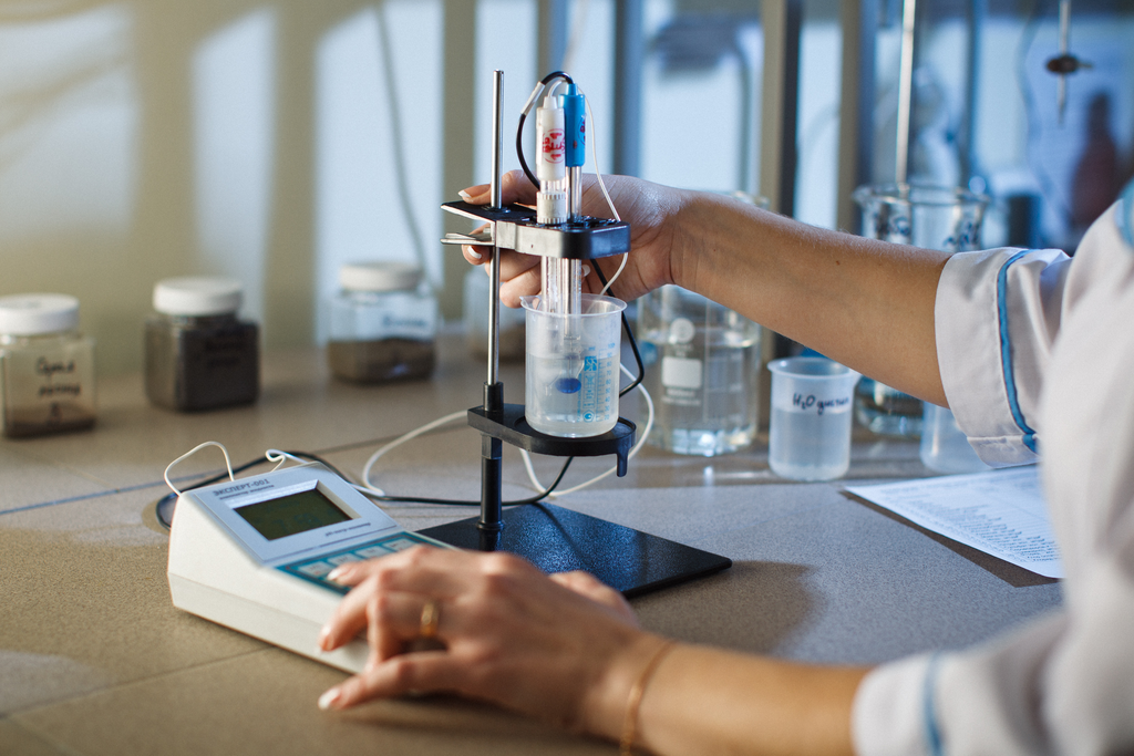 Химический анализ воды на марганец
