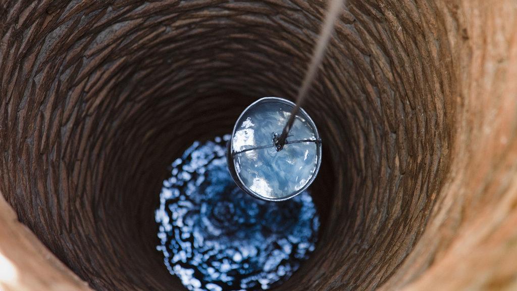 В скважине мало воды