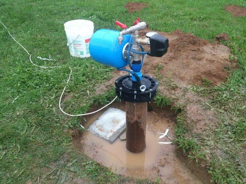 Грязная вода из скважины